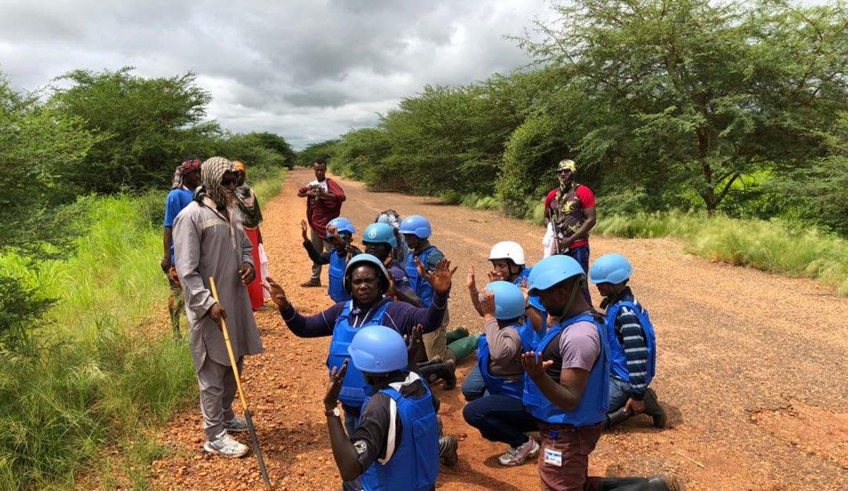 Ssafe Training Held In Abyei Unisfa