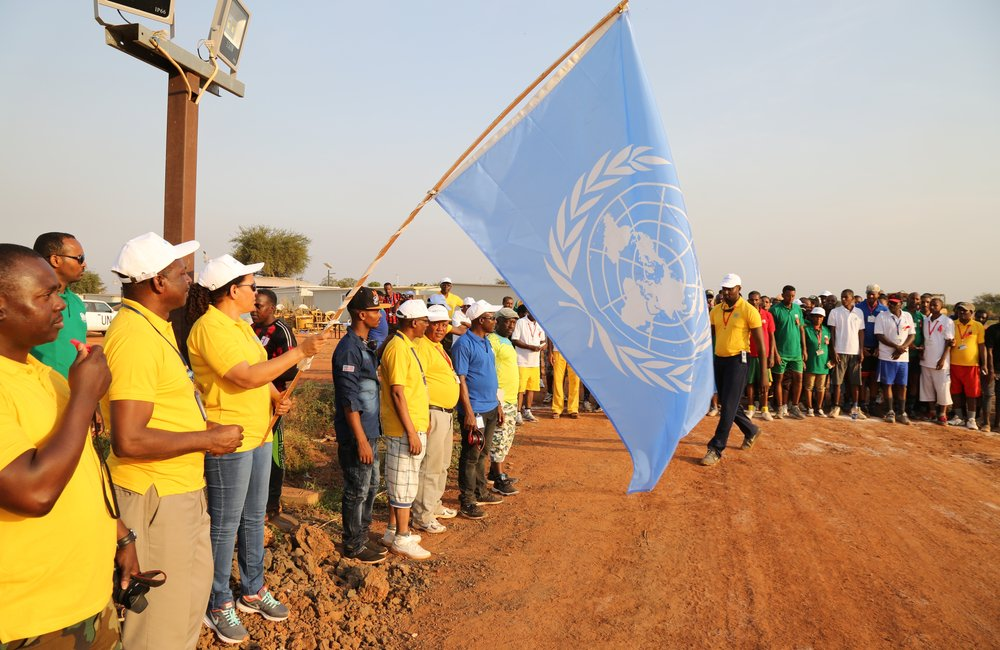 The United Nations Interim Security Force for Abyei (UNISFA) joined the global community in celebrating World AIDS Day (WAD) on 1 December 2016.
