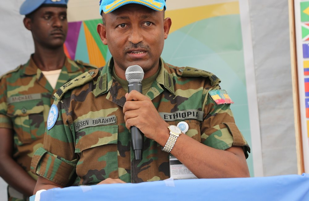 Acting Head of Mission and Force Commander Major General Hassan Ibrahim Mussa expressed his deep appreciation for the tireless work, effort, and contribution of all UNISFA staff.