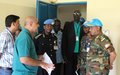 UNISFA Force Commander inspects projects in Abyei Town