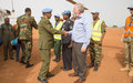 New UNISFA Acting Head of Mission and Force Commander arrives in Abyei