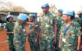 UN recognizes peacekeeping efforts of troops in Diffra