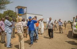 On 7-9 March 2017, a team of U.S. Embassy Khartoum officials visited Abyei to inspect USAID programming and to meet with the United Nations Interim Security Force for Abyei.